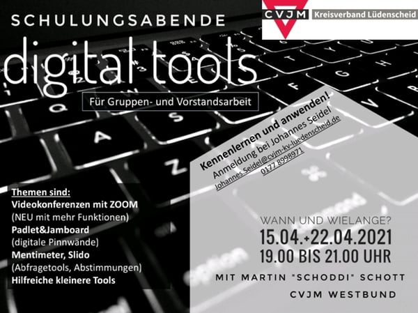 Schulungsabende: digital tools